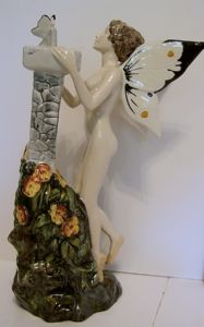 Carlton Ware Garden Fairy - Large White - SOLD